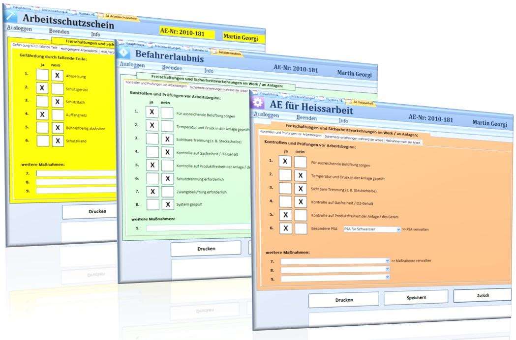 Wartungsplanung und -durchführung mit dem AE-Verfahren
