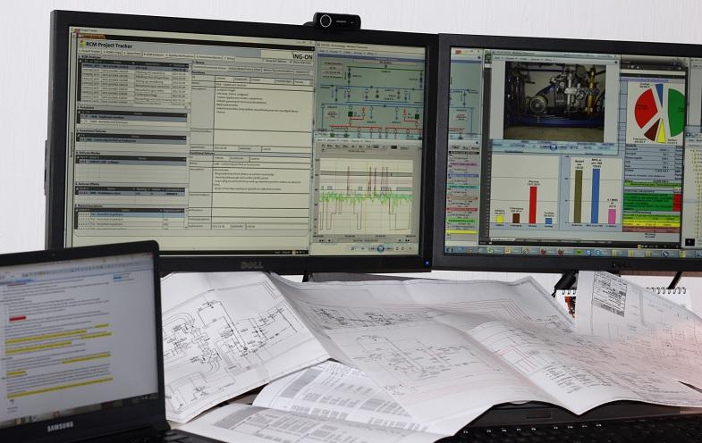 Analysis of maintenance and process data